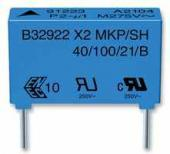 Condensateur plastique 680nF 275V X2