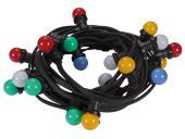 Guirlande de fête à led avec 20 lampes led multicolores XMPL10RGB