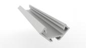 Profilé aluminium 45° 16.6 x 16.6mm 2m