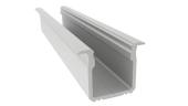 Profilé aluminium à encastrer 18x 17mm 2m