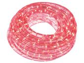 Tube flexible lumineux à leds 9M rouge