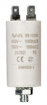 Condensateur de démarrage 6µF 450V