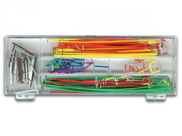 Jeu de 140 câbles de raccordements haute qualité