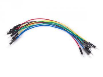 Jeu de 10 câbles de raccordements Mâle/Mâle