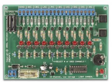 Générateur d'effets lumineux 10 canaux