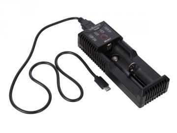 Chargeur intelligent pour accus Li-ion, Li-FePo4