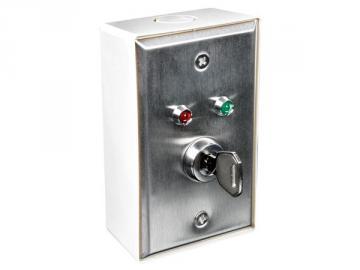 Interrupteur à clé en coffret de sécurité