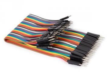Câble de liaison 40 broches Mâle / Mâle 15cm