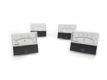 Ampèremètre analogique de tableau 60 x 47mm