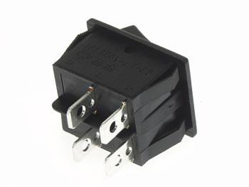 Interrupteur à bascule rectangle de puissance