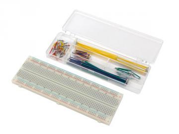 Platine de raccordement + coffret de cables