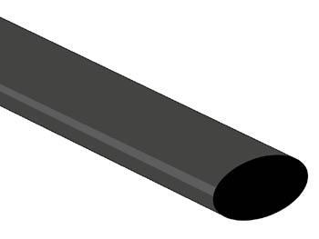 Gaine thermorétractable 12.7mm 2:1 de couleurs différentes