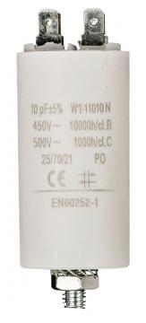 Condensateur de démarrage 10µF 450V