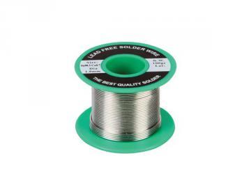 Bobine de 100g de soudure 99.3% SN 1mm sans plomb