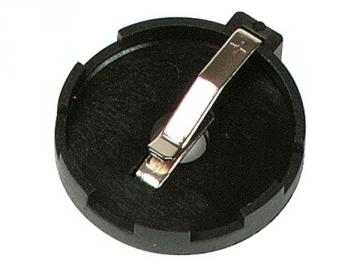 Coupleur de pile lithium plate Ø 23.8mm CR24xx