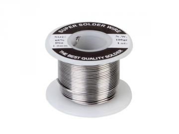 Bobine de 100g de soudure 60/40 1mm