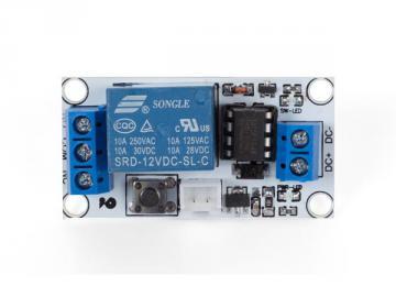 Module relais bistable 1 canal 12V