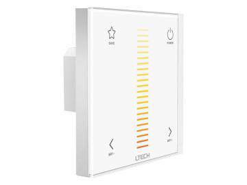 Variateur LED 1 canal température de blanc RF + DMX
