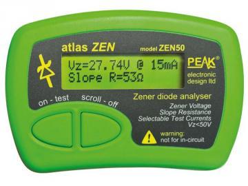 Analyseur de diodes Zener 0-50V