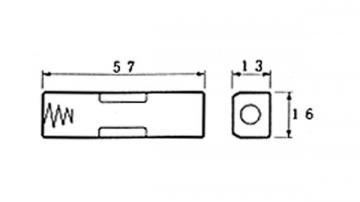 Coupleur de pile 1 x AA LR6