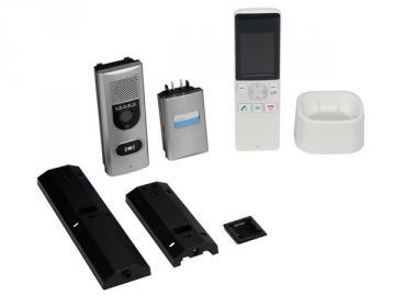 Interphone vidéo couleur sans fil