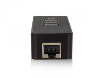 Hub USB 3.1 à 3 ports avec port ethernet Gigabit