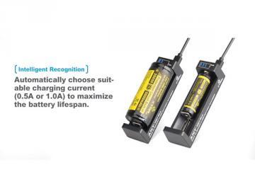 Chargeur multifonction pour accus Li-ion