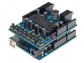 Shield audio pour ARDUINO