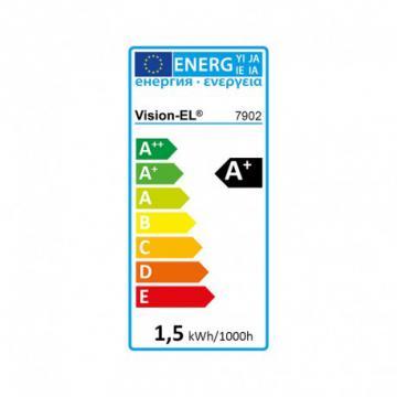 Ampoule LED 1.5W G4 siliconée blanc chaud