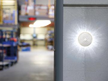 Flash stroboscopique à LEDS couleurs au choix