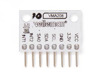 Accéléromètre numérique à 3 axes MMA8452