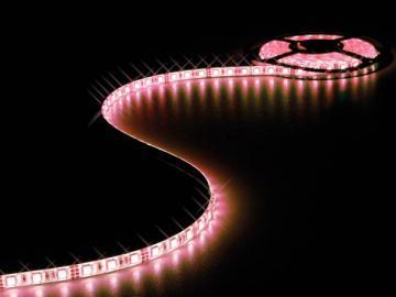 Flexible LED 60 leds/m 24Vcc 14.4W/m IP20 / RVB