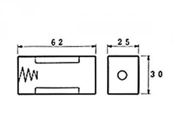 Coupleur de pile 1 x C LR14