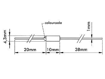 Fusible thermique 10A 250Vac