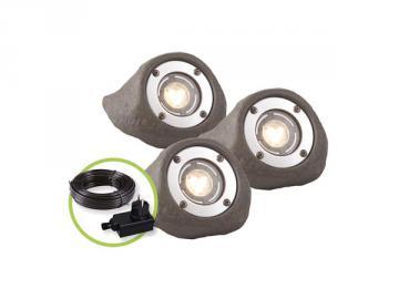 Garden Lights LAPIS 3 spots LED 12V