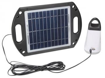 Eclairage solaire pour abri de jardin et camping SOL22