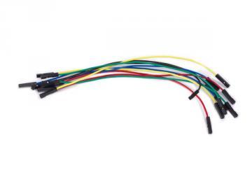 Jeu de 10 câbles de raccordements Femelle / Femelle