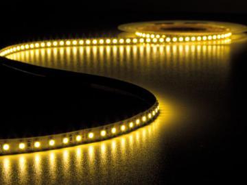 Flexible LED 120 leds/m 24Vcc 9.6W/m / Blanc chaud 3500°K