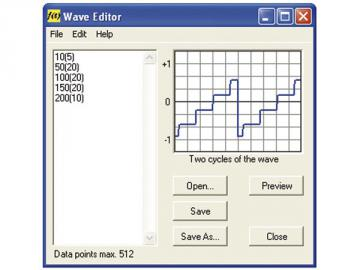 Oscilloscope PC à 2 canaux + générateur de fonction