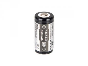 Batterie Lithium-Ion 16340 3.7V 650mAh