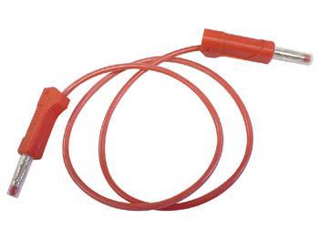 Cordon de mesure 4mm rouge ou noir / Rouge