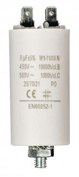 Condensateur de démarrage 8µF 450V