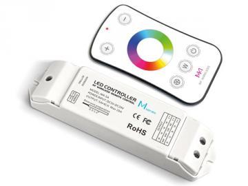 Contrôleur LED RVBW avec télécommande RF