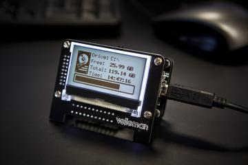 Afficheur de message USB