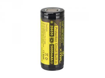 Batterie Lithium-Ion 26650 3.7V 5000mAh