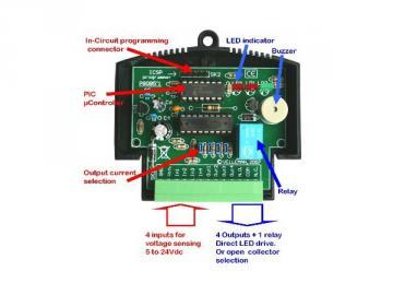 Module d'applications PIC / PLC miniature