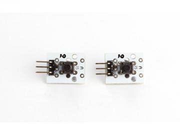 Module bouton poussoir compatible ARDUINO 2 pièces