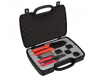 Kit complet avec pince à sertir pour Coax VTBNCS