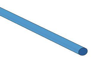 Gaine thermorétractable 3.2mm 2:1 de couleurs différentes / Bleu