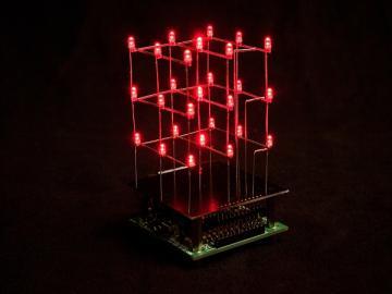 Cube à leds 3 x 3 x 3